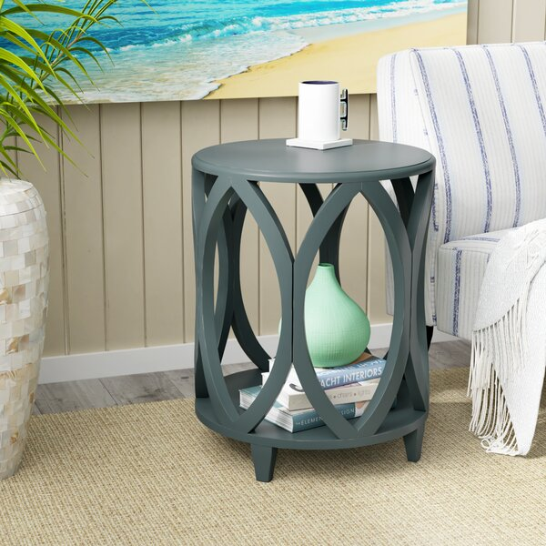 Lysia End Table by Highland Dunes