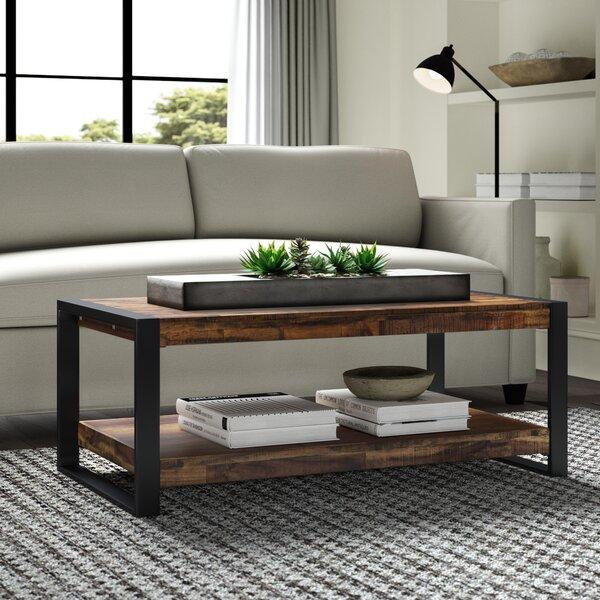 Telfair Sled Coffee Table with Storage by Greyleigh Greyleigh
