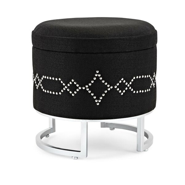 Caines Fabric Storage Ottoman by House of Hampton