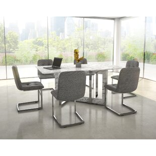 Beau Bruck Contemporary 7 Piece Dining Set