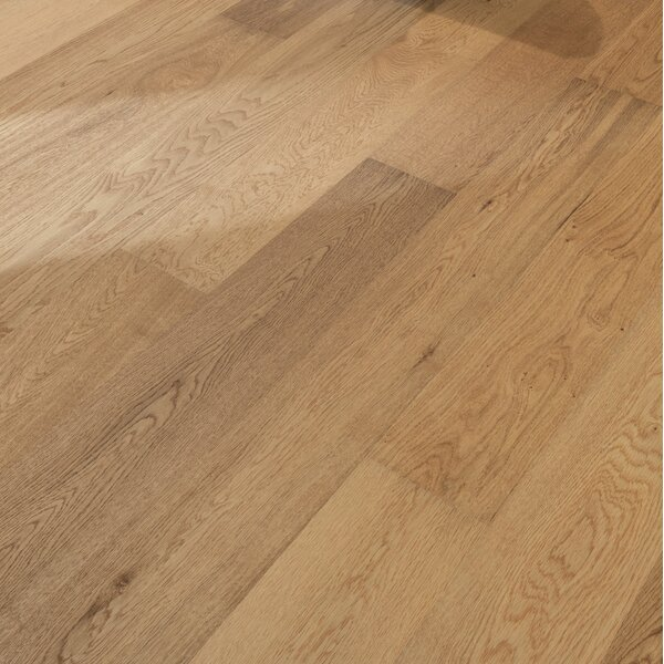 Sonata 6-1/4 Engineered Oak Hardwood Flooring in Staccato by Kahrs