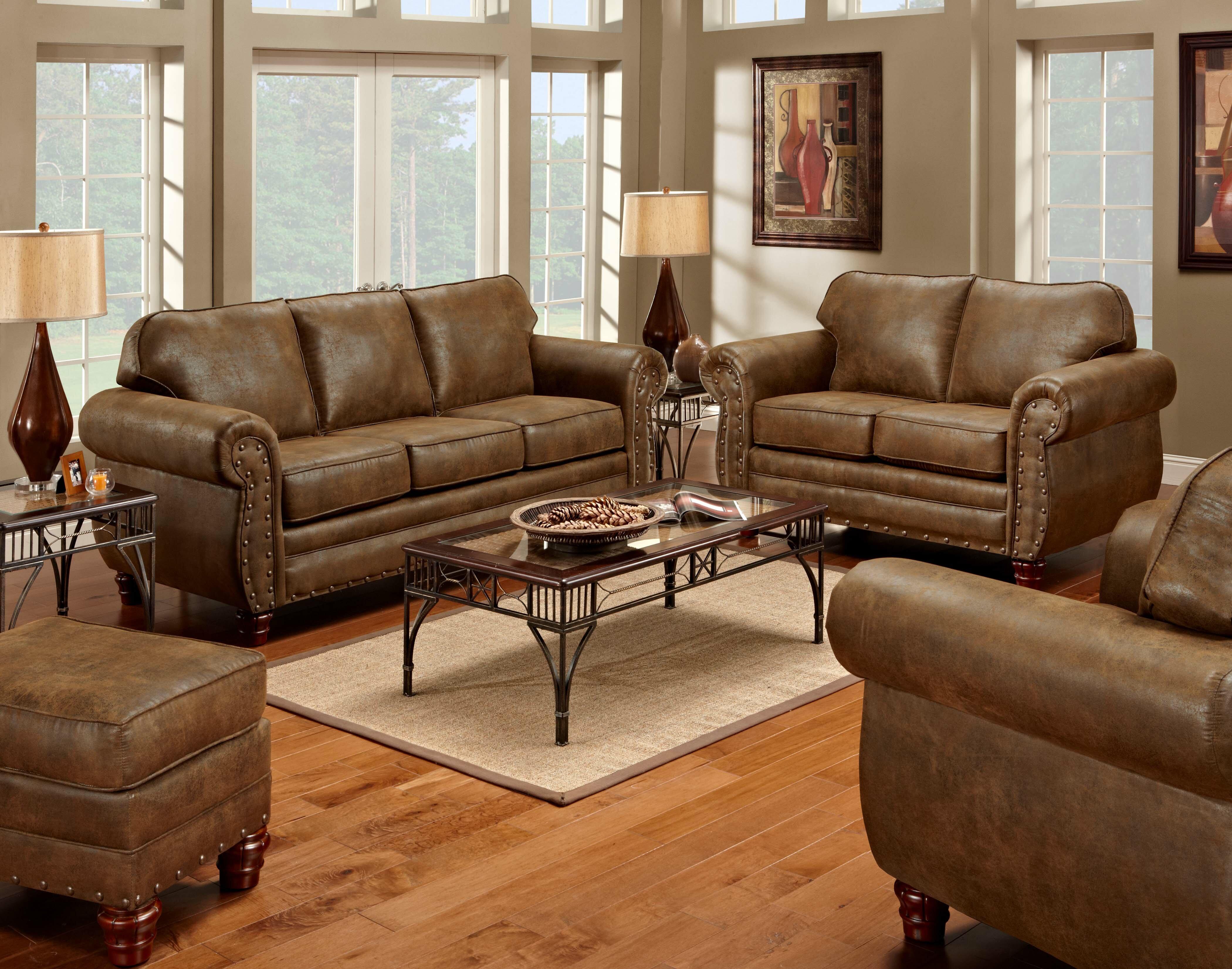 American Furniture Classics Sedona 4 Piece Living Room Set & Reviews ...