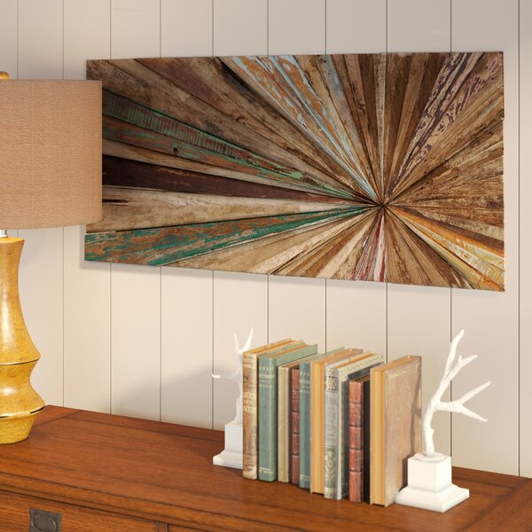 Wood Abstract Wall Décor by Mercury Row