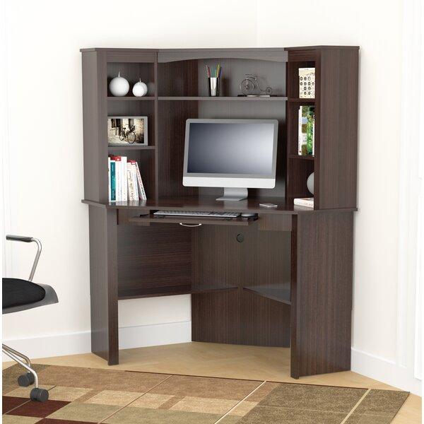 Camilla Corner Desk with Hutch