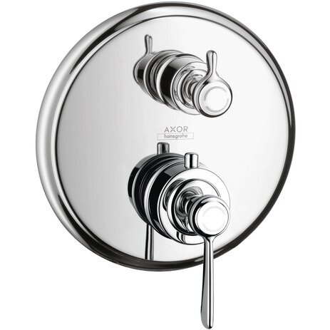 Axor Montreux Trim Lever Thermostatic with Volume Control and Diverter by Axor
