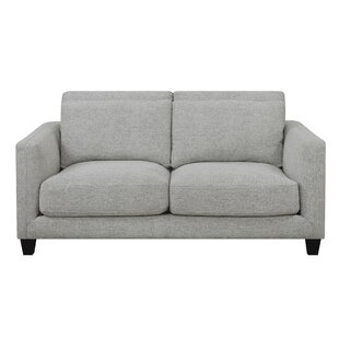 Lancelot Square Arms Loveseat by George Oliver