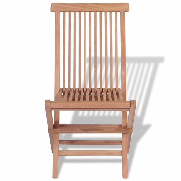 Folding Dining Chair (Set of 4) by Breakwater Bay Breakwater Bay