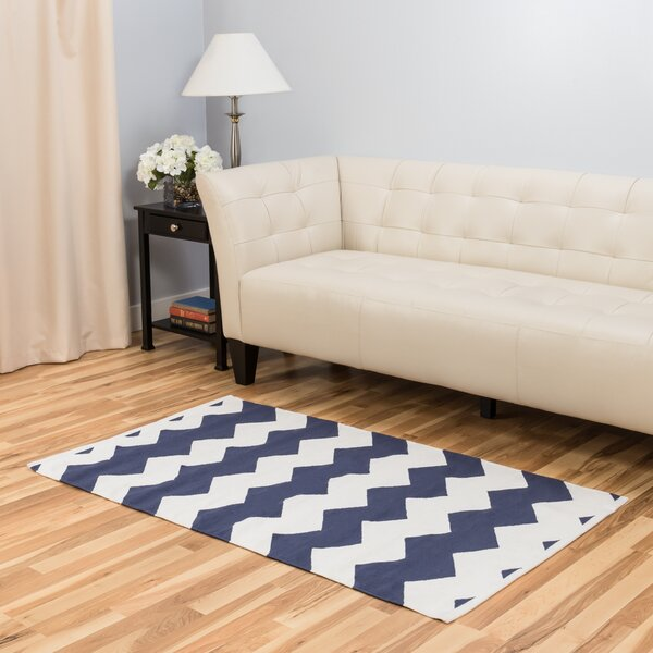 Blue/White Area Rug by Harbormill