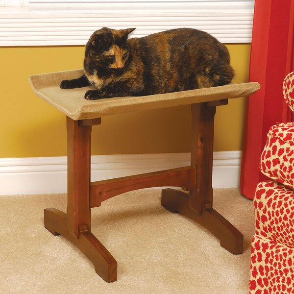 19 Single Seat Wooden Cat Perch by Mr. Herzher's
