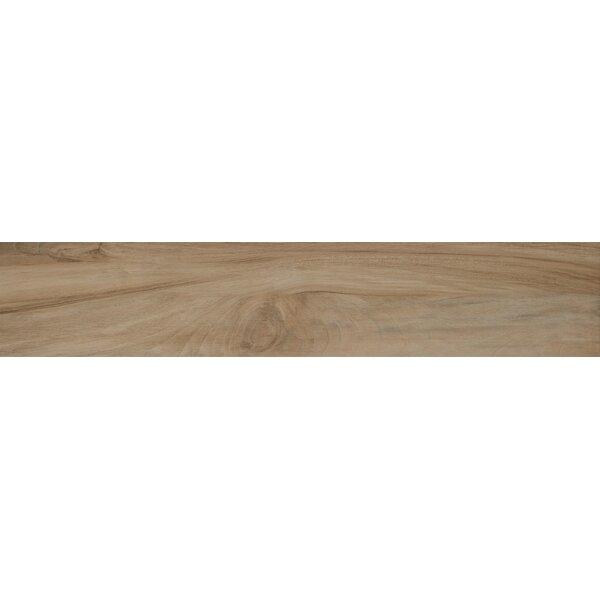 Aspenwood 9 x 48 Porcelain Wood Tile in Amber by MSI