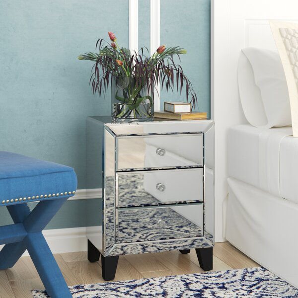 Beglin 3 Drawer Nightstand By House Of Hampton by House of Hampton Comparison
