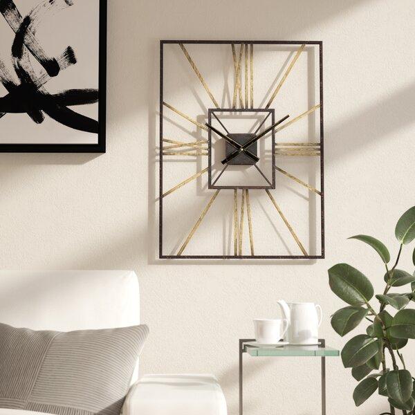 Dillwyn Mid Century Wall Clock by Wade Logan