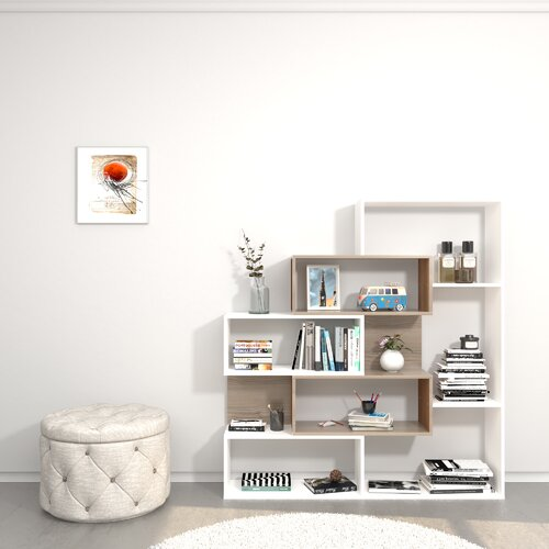 Bücherregal Gailey Brayden Studio | Wohnzimmer > Regale > Bücherregale | Brayden Studio