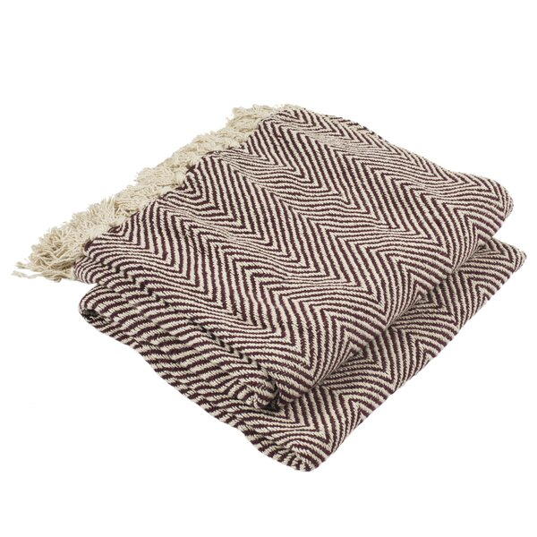 Holquin Cotton Throw by Gracie Oaks
