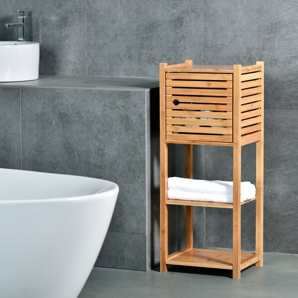 Rillie 11 H x 14 W Bathroom Shelf
