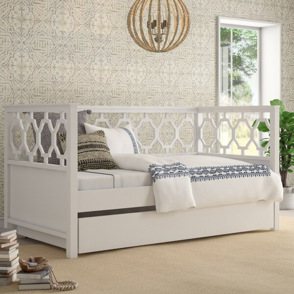 Eliora Quaterfoil Twin Daybed With Trundle By Mistana