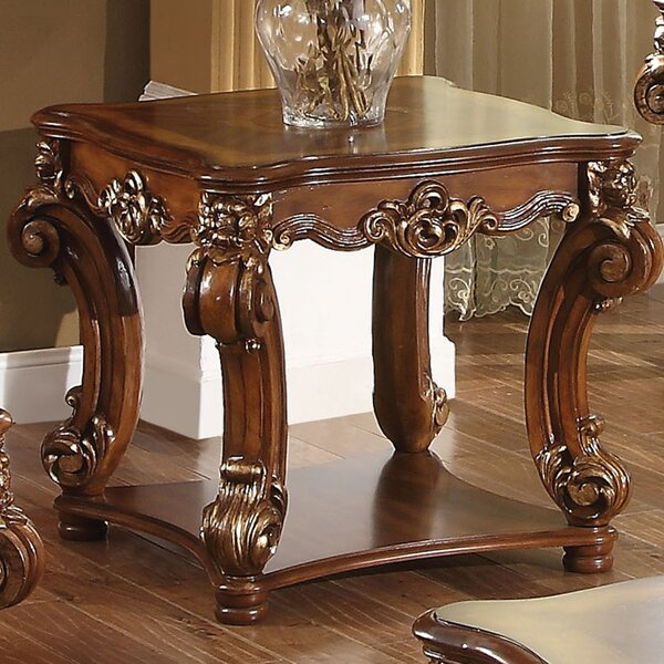 Welles End Table by Astoria Grand