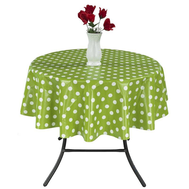 Berrnour Home Sunflower Vinyl Indoor/Outdoor Tablecloth & Reviews ...