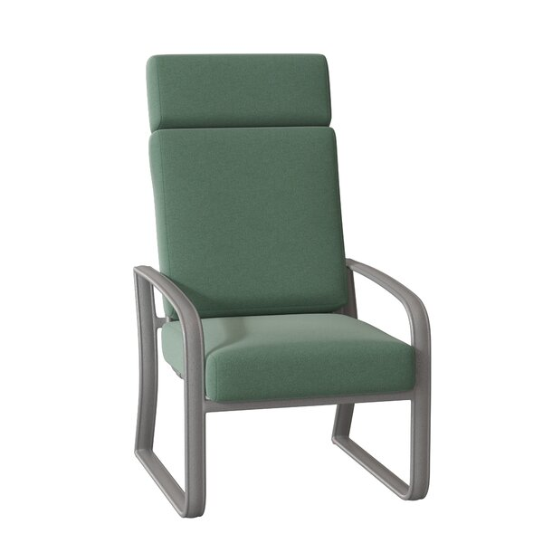 Cayman Isle Patio Dining Chair with Cushion by Woodard