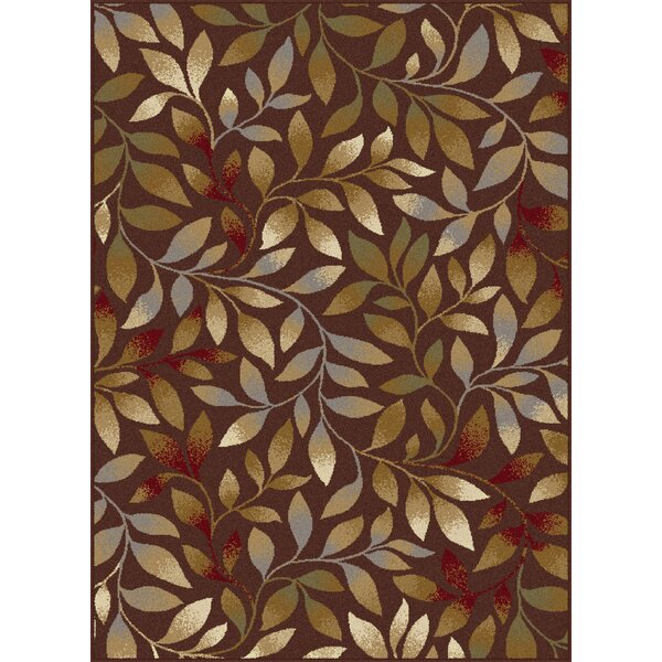 Geneva Brown Area Rug by Threadbind