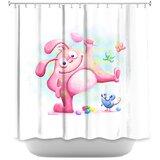 Bunny Shower Curtain Wayfair