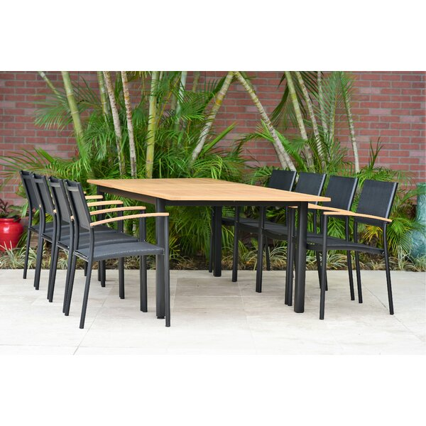 McGugin 9 Piece Dining Set by Latitude Run
