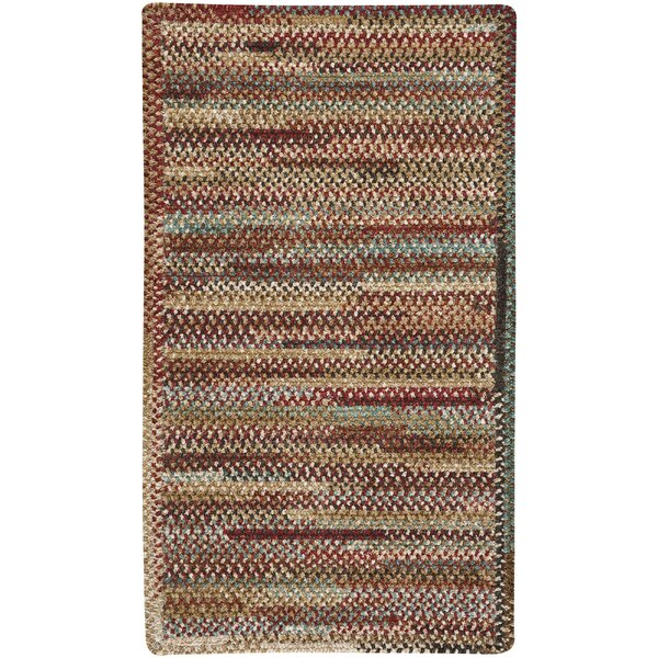 Eben Deep Red Area Rug by August Grove