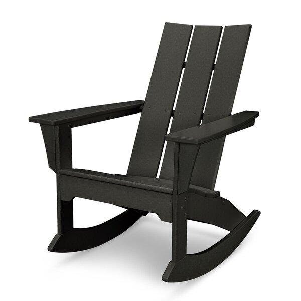 Modern Plastic Rocking Adirondack Chair by POLYWOOD POLYWOOD®