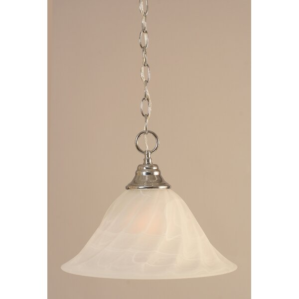 Capra 1-Light Bowl Pendant by Red Barrel Studio