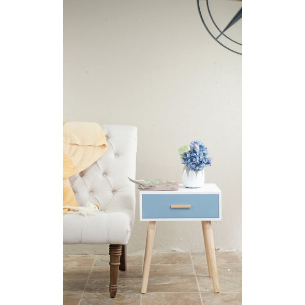 Shropshire End Table With Storage By Wrought Studio