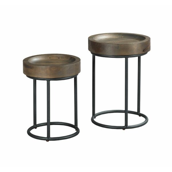 Justine 2 Piece Nesting Tables by Foundry Select