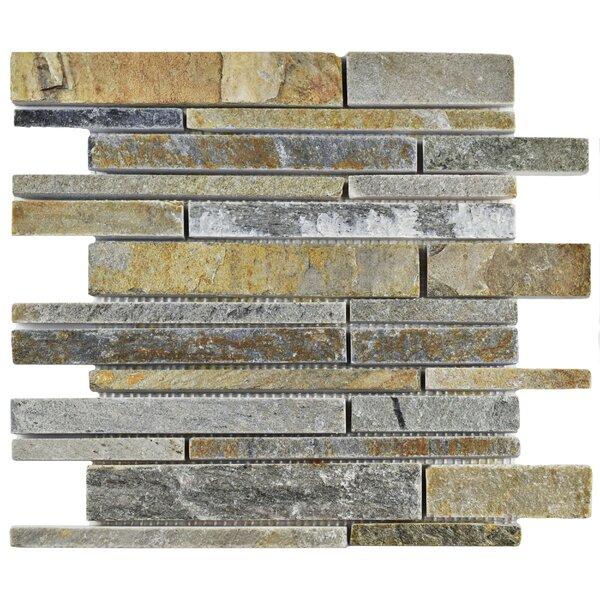 Peak Grand Piano Random Sized Slate Mosaic Tile in Arizona by EliteTile