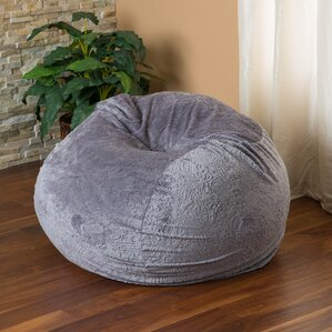 Ellie Bean Bag Chair by Viv + Rae