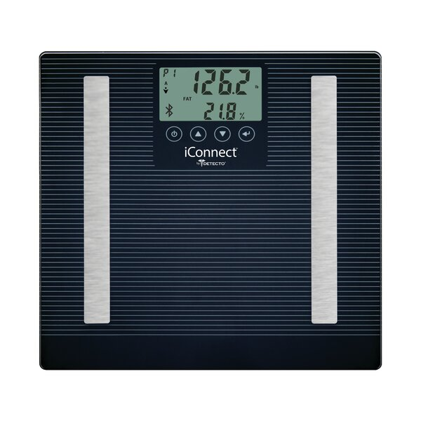 Detecto 8 in 1 iConnect Smart Digital Scale by Escali