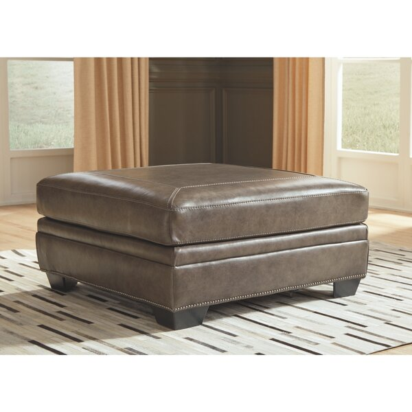 Faringdon Oversized Accent Ottoman by Alcott Hill