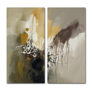 'Paint Splash' Wall Art Set by Trademark Global