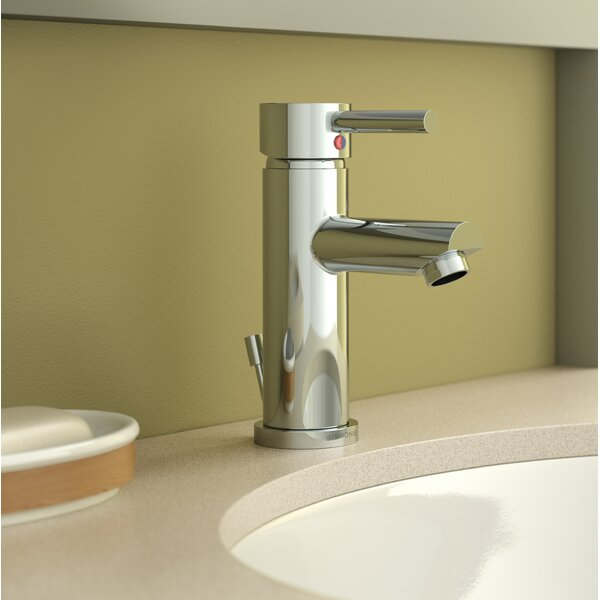Dia Round Single Hole Bathroom Faucet with Drain Assembly by Symmons