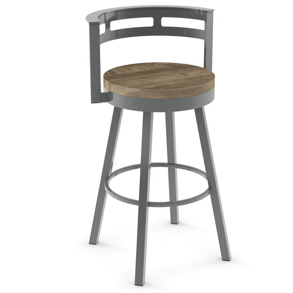 Talia 29.5 Swivel Bar Stool by 17 Stories