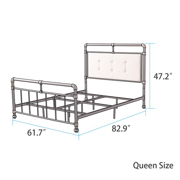 Cowgill Upholstered Standard Bed by 17 Stories