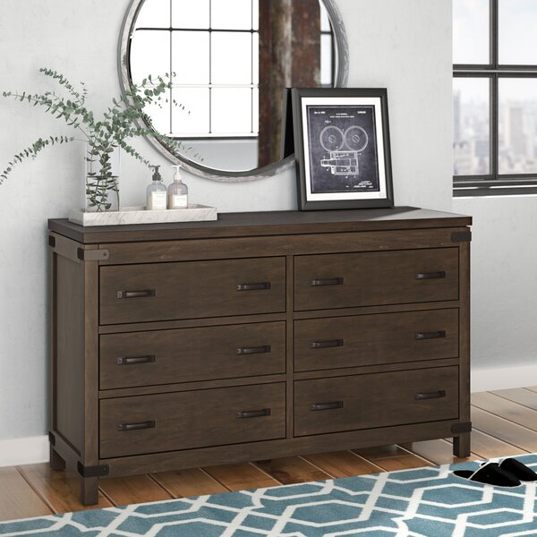 Hillside 6 Drawer Double Dresser by Trent Austin Design
