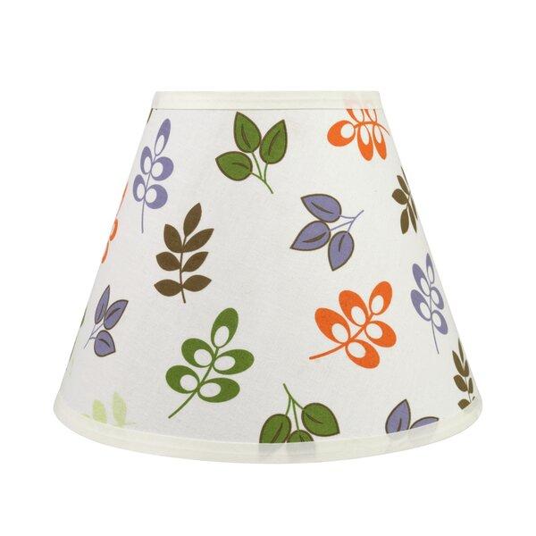 Transitional Hardback 12 Fabric Empire Leaves Lamp Shade by Ebern Designs
