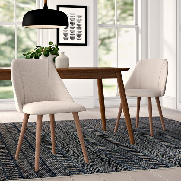 Creggan Upholstered Dining Chair (Set of 2) by Comm Office