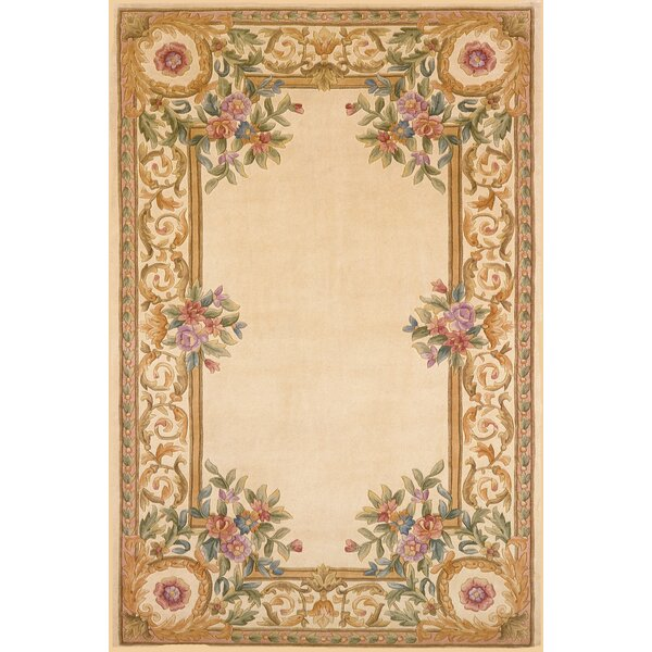 Laurel Hand-Tufted Ivory Area Rug by Astoria Grand
