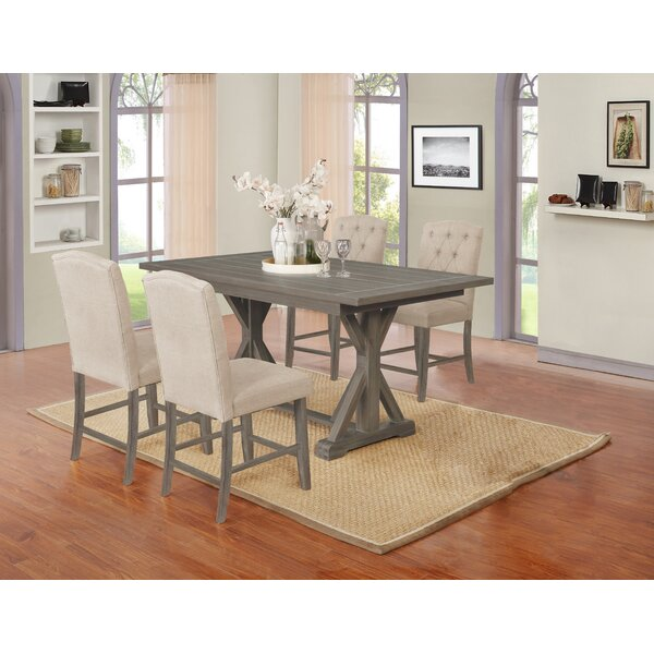 Tyrinia 5 Piece Dining Set by Gracie Oaks Gracie Oaks