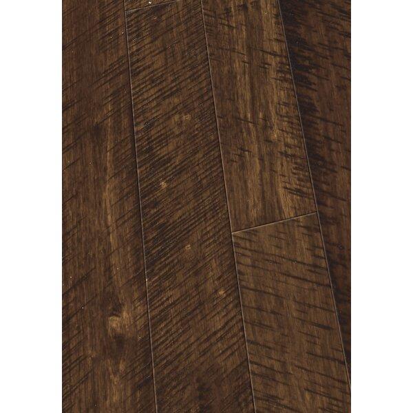 4.5 Solid Hevea Hardwood Flooring in Distressed Sunset by Maritime Hardwood Floors