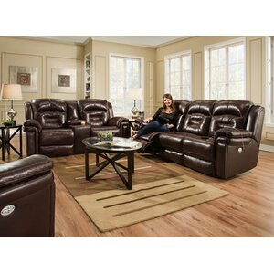 Avatar Leather Reclining Sofa by Southern Motion