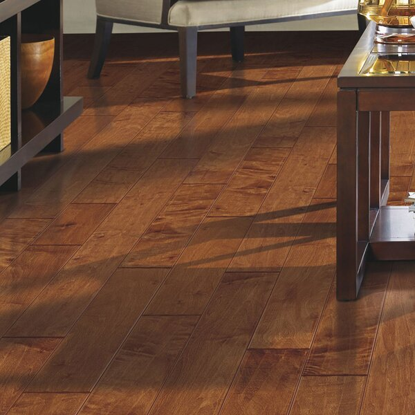 Stately Manor 5 Engineered Maple Hardwood Flooring in Light Amber by Mohawk Flooring