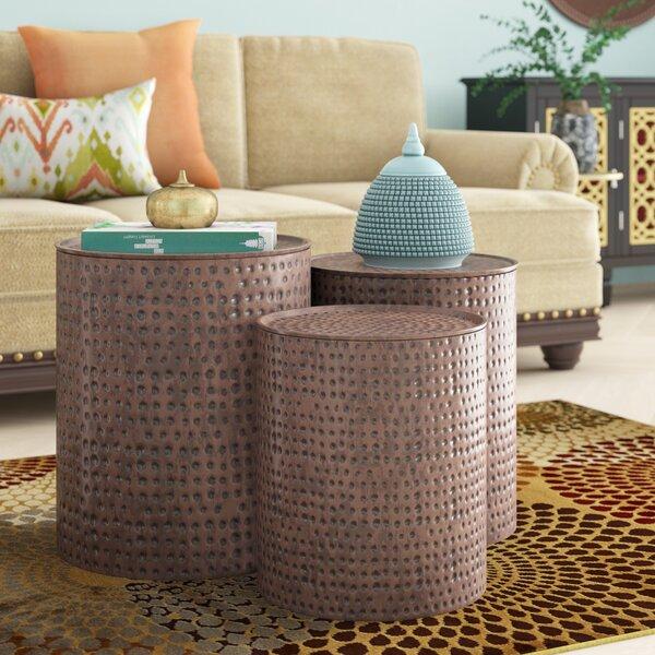 Adrianna 3 Piece Coffee Table Set by Mistana