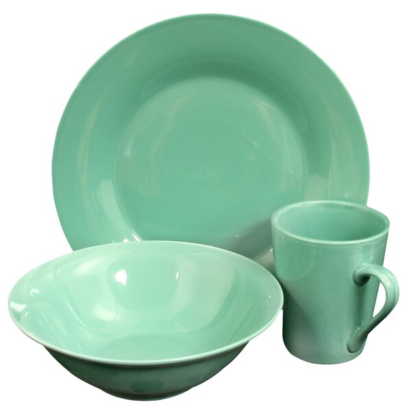 LeLand 12 Piece Dinnerware Set, Service for 4 by Bay Isle Home