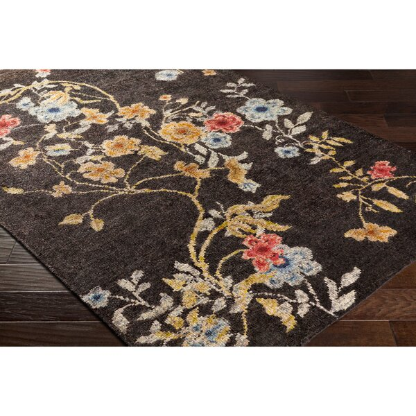 Pippin Hand-Knotted Brown/Blue Area Rug by Astoria Grand